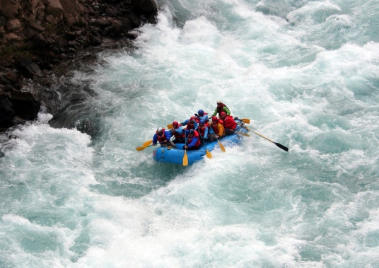 Rafting in Kaudiyala