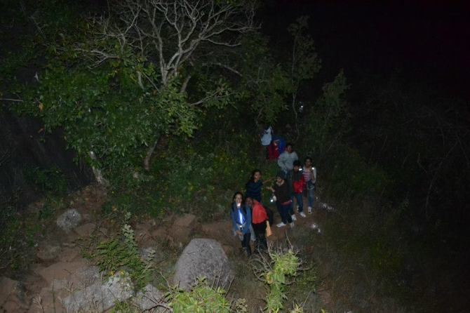Skandagiri night trekking