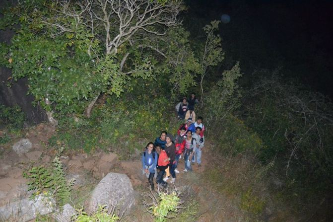 skandagiri trekking
