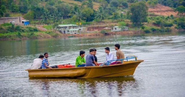 calm water raft