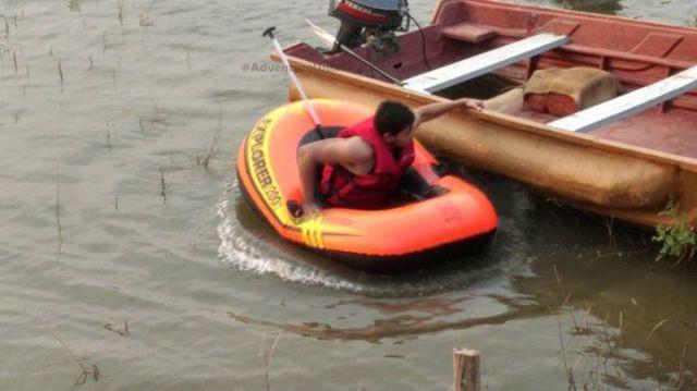 boatin in kanakpura