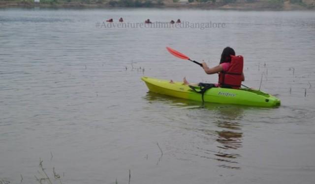 Canoeing in kanakapura