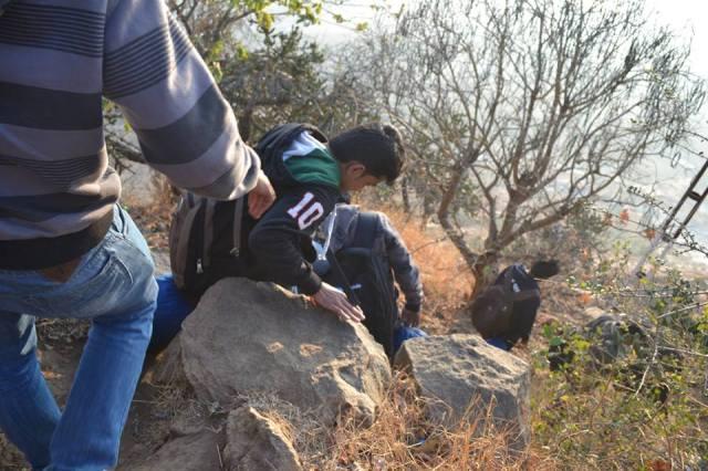 downhill Kabbal Durga Trekking