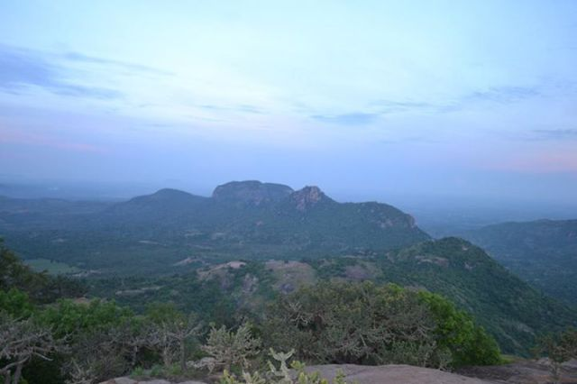 Kabbal Durga Night Trekking near bangalore