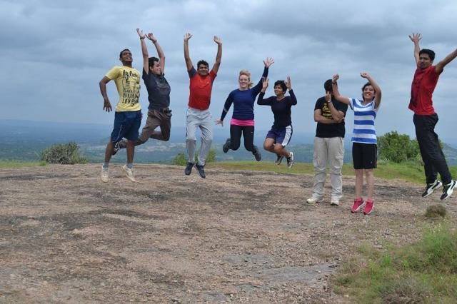 Ramanagara Day Trek near bangalore hill top fun 2