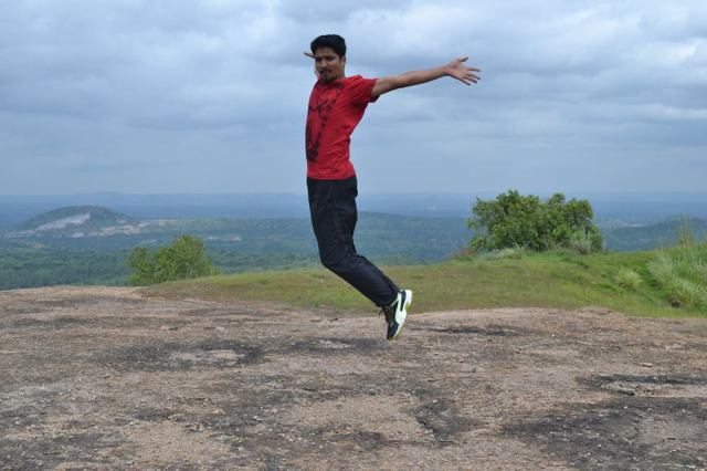 Ramanagara Day Trek near bangalore hill top fun 3