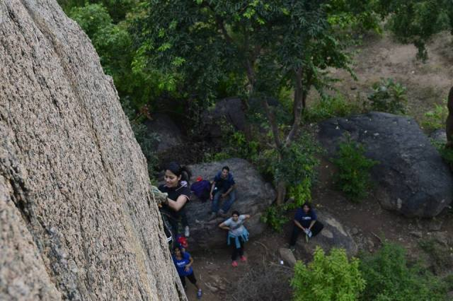 Rappelling ramnagara in india