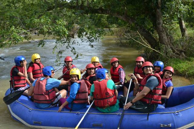 river rafting in coorg india