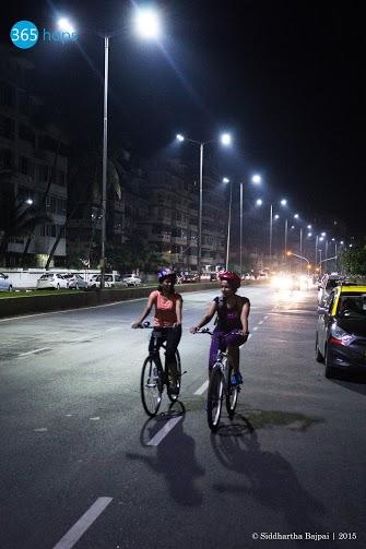 Midnight Cycling Events at Mumbai
