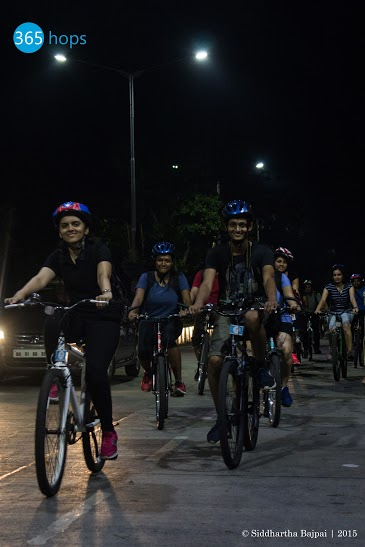 Midnight Cycling Heritage Ride