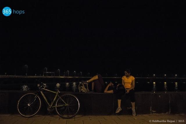 Midnight Cycling Trips in Mumbai