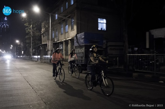 Midnight Cycling Trips