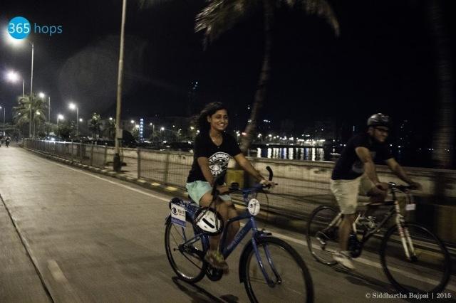 Mumbai Midnight Cycling Heritage Ride - 1