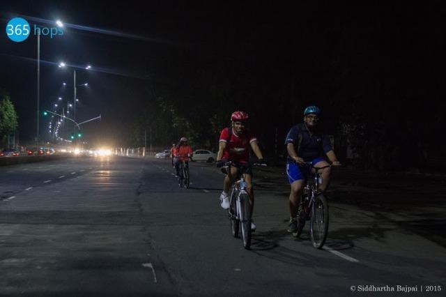 Mumbai Midnight Cycling Tours