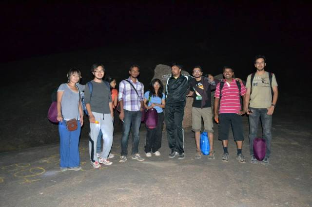 Night Trek Near Bangalore