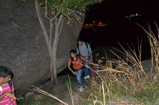 Rock Climbing in Savandurga