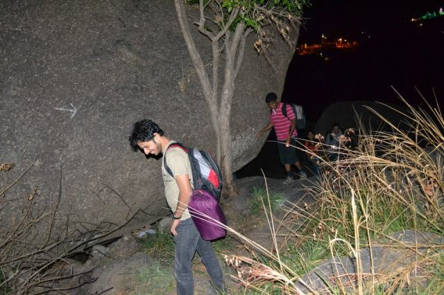Savandurga Night Trekking