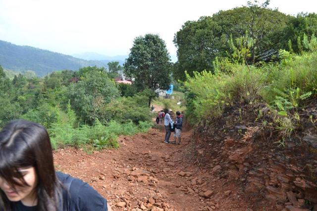 kudremukh trek morning 1