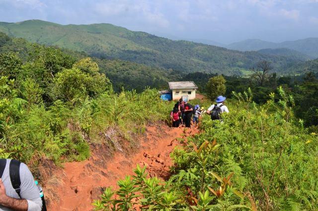 kudremukh trek morning 5
