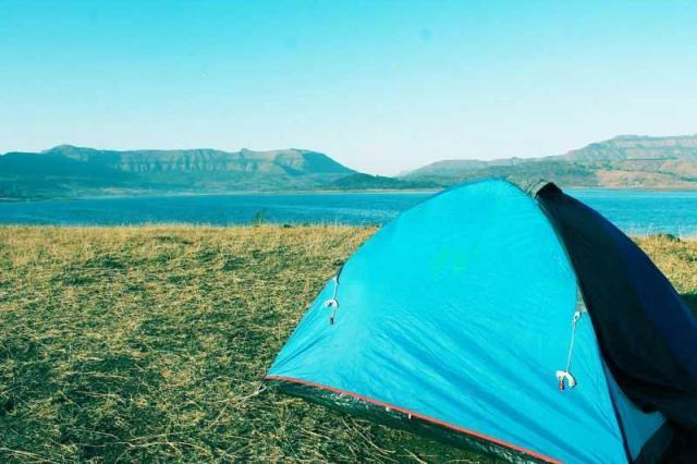 Camping at Bhandardara Maharashtra