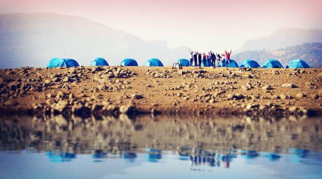 Bhandardhara camping mumbai india