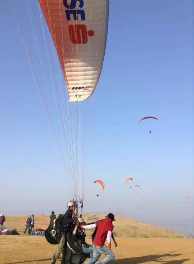 Paragliding In Kasmat