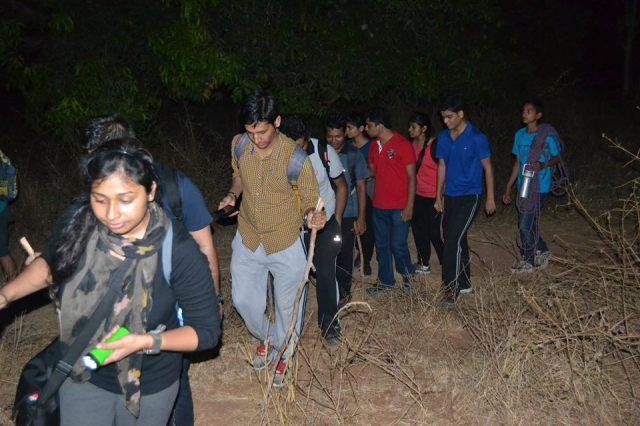 Ramanagara night trek with rappling 12