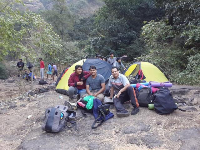 sandhan valley trek in mumbai