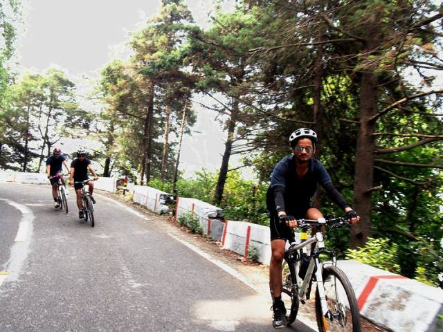 cycling in dehradun
