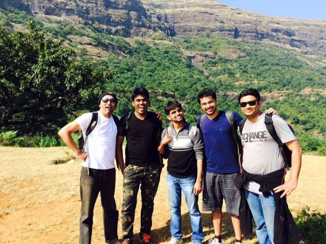 Weekend corporate outing to kalsubai