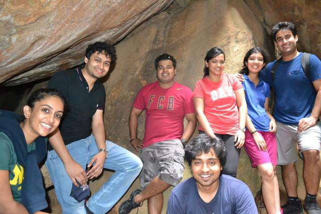 anthargange trek and cave exploration