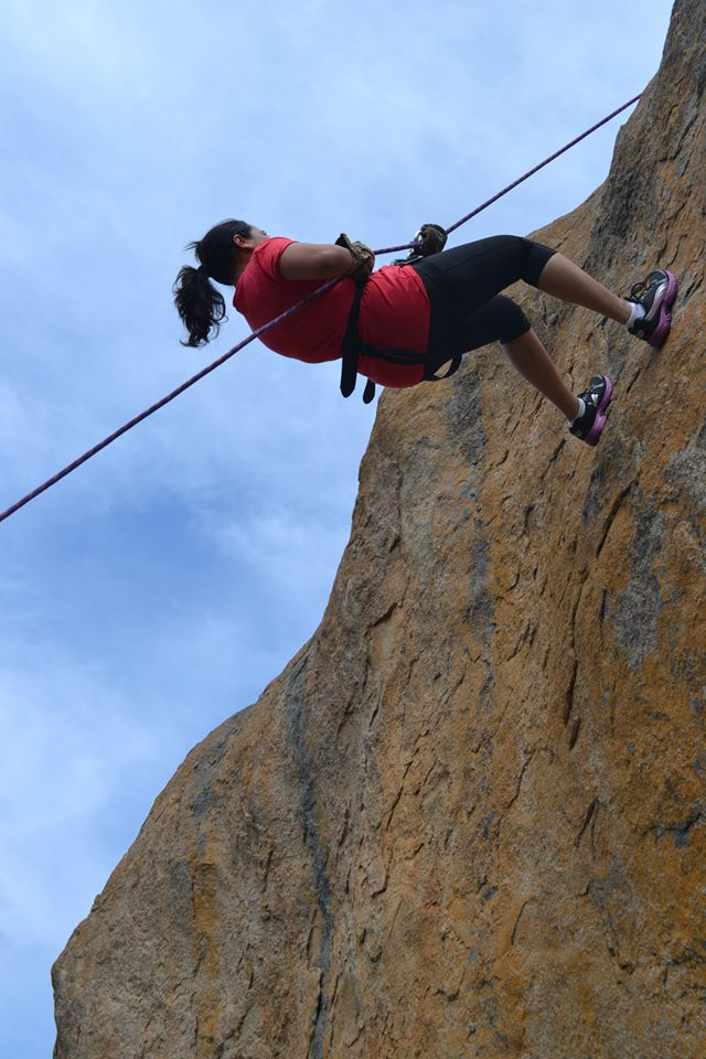 anthargange trek and rappelling 1