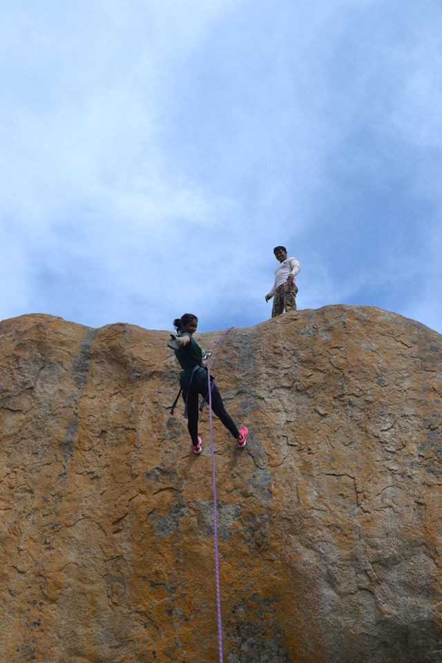 anthargange trek and rappelling 4