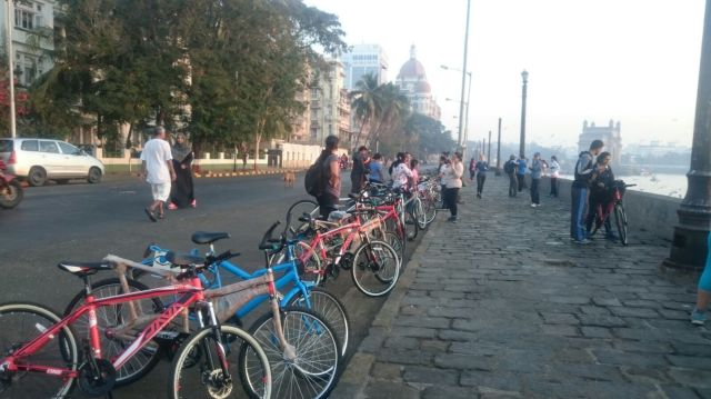 Breakfast Ride at South Mumbai
