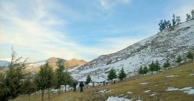 Camping at Prashar Lake Himachal Pradesh 1