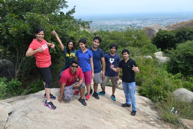 Fun in Anthargange Cave Explore Near Bangalore