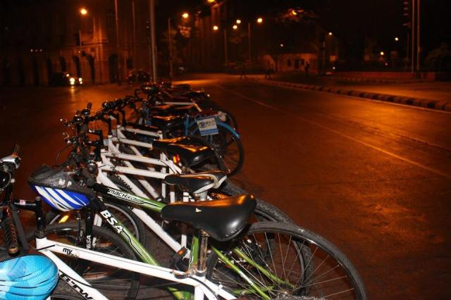 Mumbai Midnight Cycling Heritage Ride 1