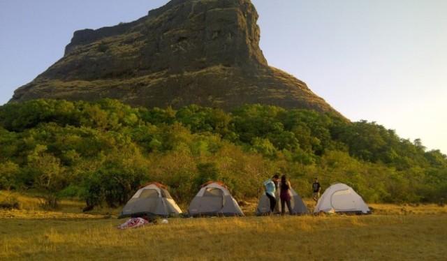 rajmachi camping