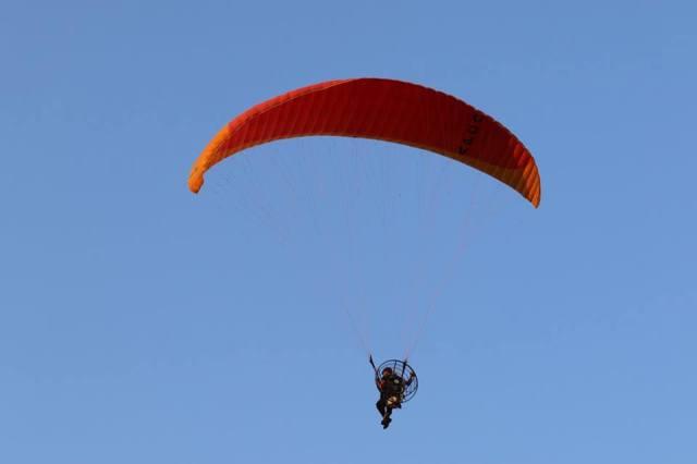 sky dive in india