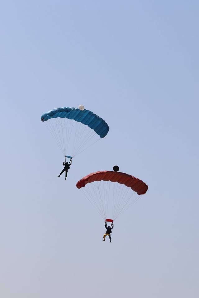 skydiving in surat