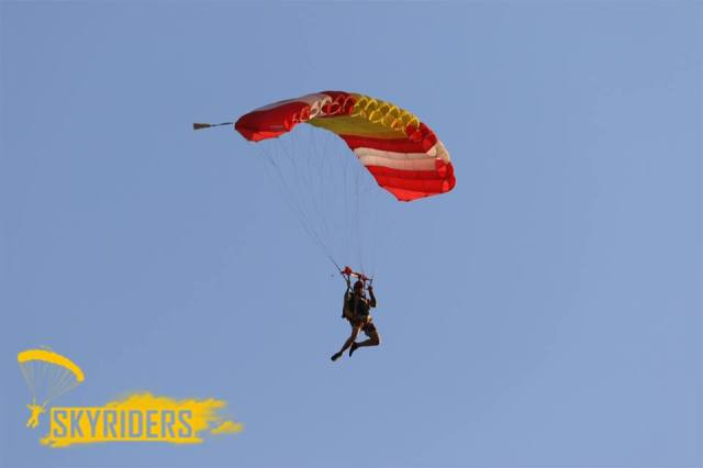 skydiving places in india