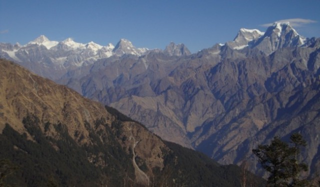 The Kuari Pass trek begins from Joshimath india