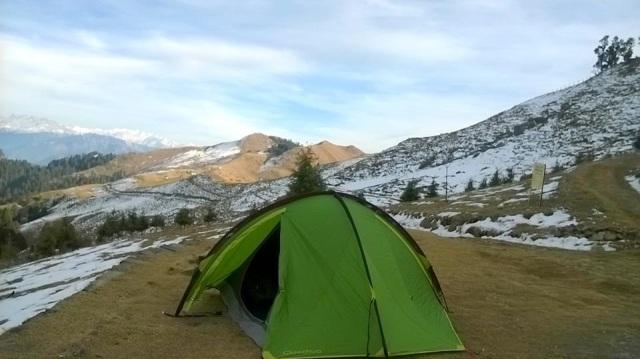 trekking to Prashar Lake 8