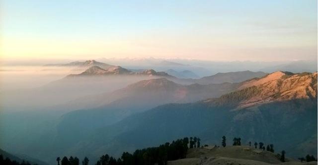 trekking to Prashar Lake Himachal Pradesh
