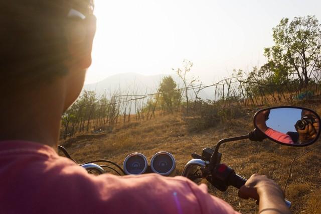 Adventurous Bike Ride To Rajmachi Base Camp 6 feb 12