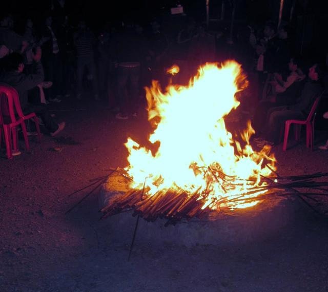 bonfire mashobra camp