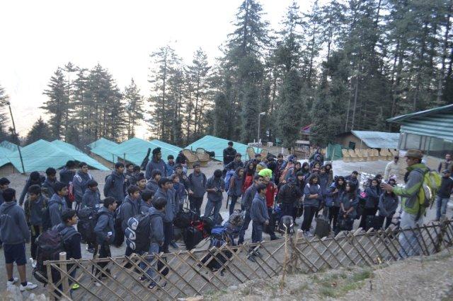 camping in mashobra india