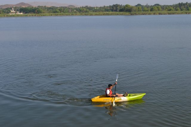 Kayaking in kunti betta 2