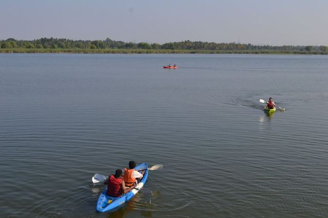 Kayaking in kunti betta 5
