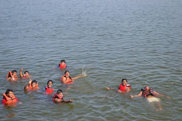 Kayaking in kunti betta 6